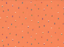 Double Dots Cotton Apricot