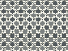 Downtown Geometric Bubbles Cotton Grey