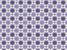 Downtown Geometric Bubbles Cotton Purple