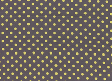 Dumb Dot Polka Dot Yellow on Pluto Grey