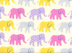 Elephants Organic Cotton in Candy