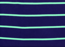 Ella Moss Wide Stripe Knit Navy
