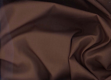 Espresso Brown Cotton Voile Fabric
