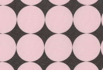 Extra Large Disco Dots Pink on Gray