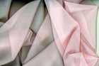 Extra-Wide Pink Sheer Curtain Fabric