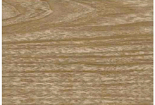 Faux Birch Wood Oilcloth Fabric Brown