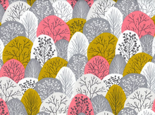 First Light Spring Woodland Organic Cotton Pink