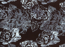 Floral Batik Cotton Backlight