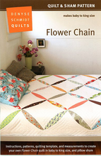 Flower Chain Quilt Pattern by Denyse Schmidt