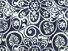 Flower Power Batik Indigo