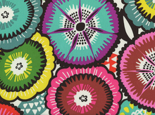 Folklorico Catrina Floral Cotton Bright