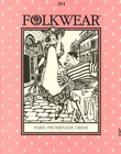 Folkwear 1920's Paris Promenade Dress Pattern