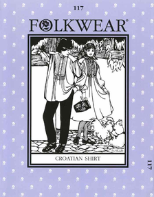 Folkwear Croatian Peasant Shirt Pattern