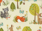 Forest Fellows Animals Cotton Nature