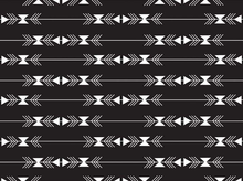 Four Corners Stripe Cotton Black