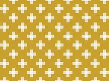 Four Corners Weave Cotton Gold
