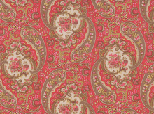 Free Spirit October Skies Paisley Voile Latte