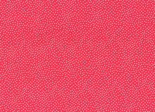 Garden Pin Dot Punch Red