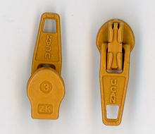 Gold Metal Zipper Pull #3