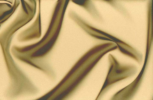 Gold Tahari Satin Fabric