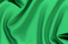 Green Tahari Satin Fabric