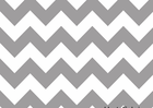 Grey Chevron Stripe Cotton Fabric