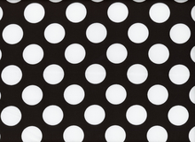Harlequin Big Dot Cotton Spandex Black