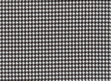 Harlequin Houndstooth Black and White