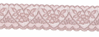 Hearts and Flowers Stretch Lace Mauve