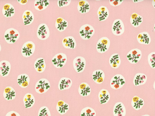 Small Scale Floral Fabric