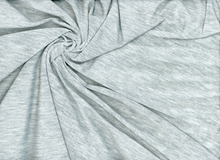 Heathered Rayon Knit Fabric Grey