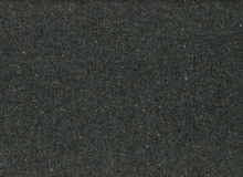Heathered Wool Coating Dark Grey