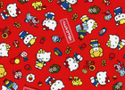Hello Kitty Cotton Canvas Red