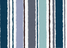 High Tide Stripes Cotton Aqua