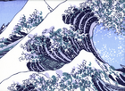 Hokusai Wave off Kanagawa Cotton Canvas