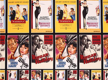 "Hollywood Icons Andrey Film Posters Cotton Black <br><FONT COLOR=""fc7db0"">Employee Favorite!</FONT>"
