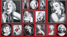 "Hollywood Icons Marilyn Cotton Red <br><FONT COLOR=""fc7db0"">Employee Favorite!</FONT>"