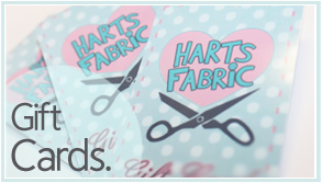 Buy Gift Certificates Online at Harts Fabric