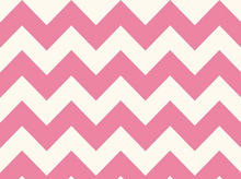 Hot Pink Chevron Stripe Cotton Fabric