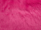 Hot Pink Shag Faux Fur Fabric
