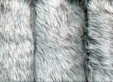 Husky Faux Fur Light Grey