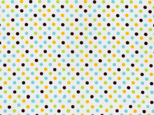 Imported Polka Dot Cotton Fabric Multi