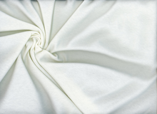 Interlock Knit Fabric Ivory