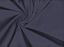 Interlock Knit Fabric Navy
