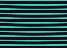 Interlock Stripes Green and Navy