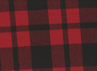 Jackie Plaid Coating Fabric Red