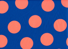 Japanese Neon Dot Cotton Blue