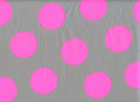 Japanese Neon Dot Cotton Grey