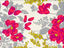 Joel Dewberry Rose Bouquet Rayon Poppy