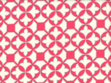 Joel Dewberry Trellis Cotton Poppy